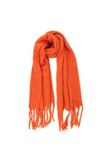 Sjaal warm oranje