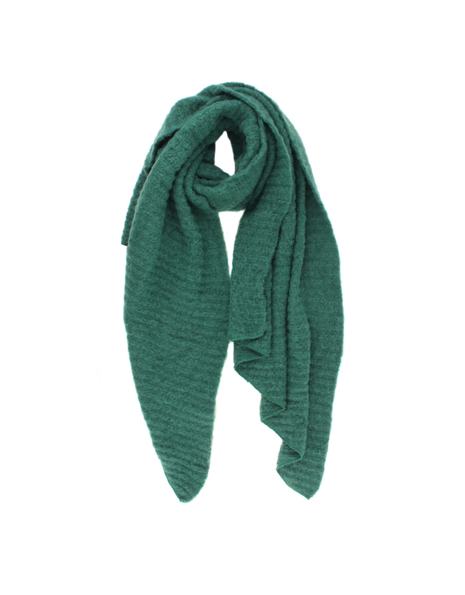 Sjaal schuin groen