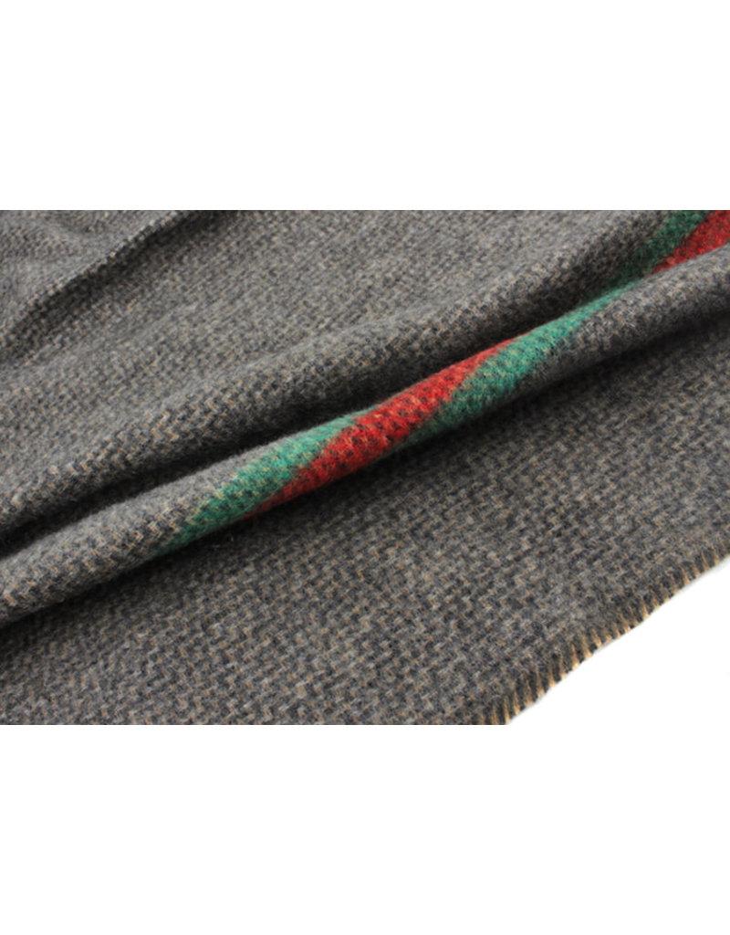 Sjaal streep bruin