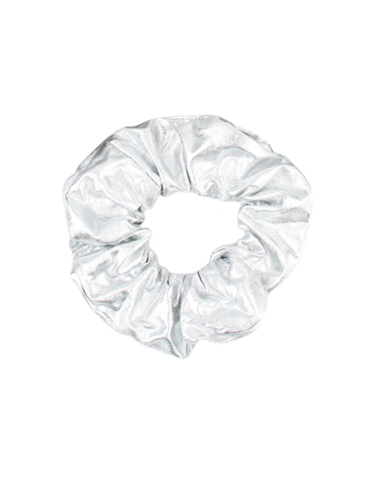 Scrunchie zilver