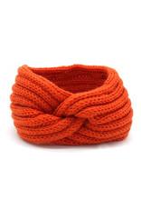 Haarband warm oranje