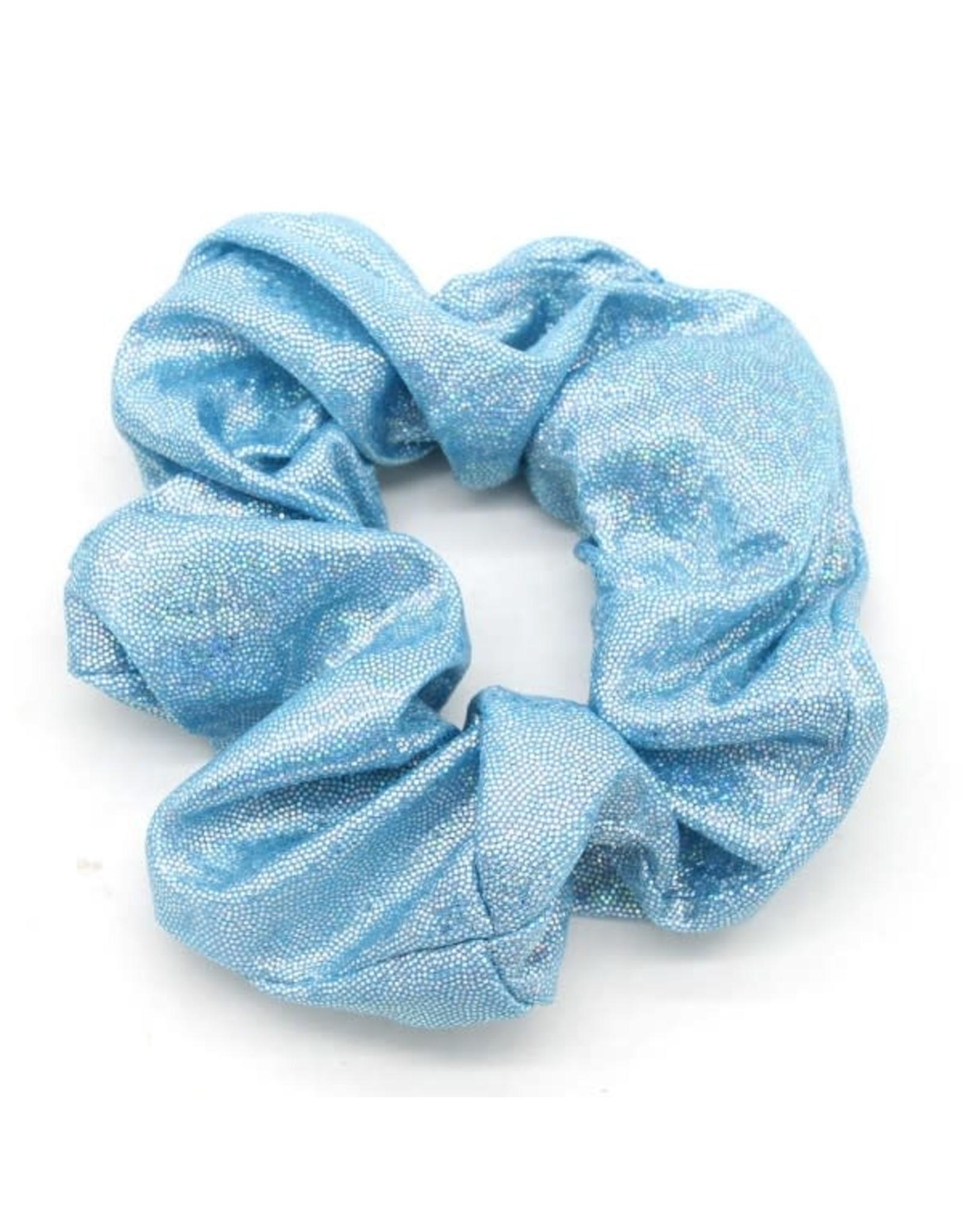 Scrunchie zeemeermin lichtblauw