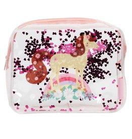 Toiletzak glitter paard