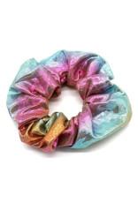 Scrunchie zeemeermin pastel