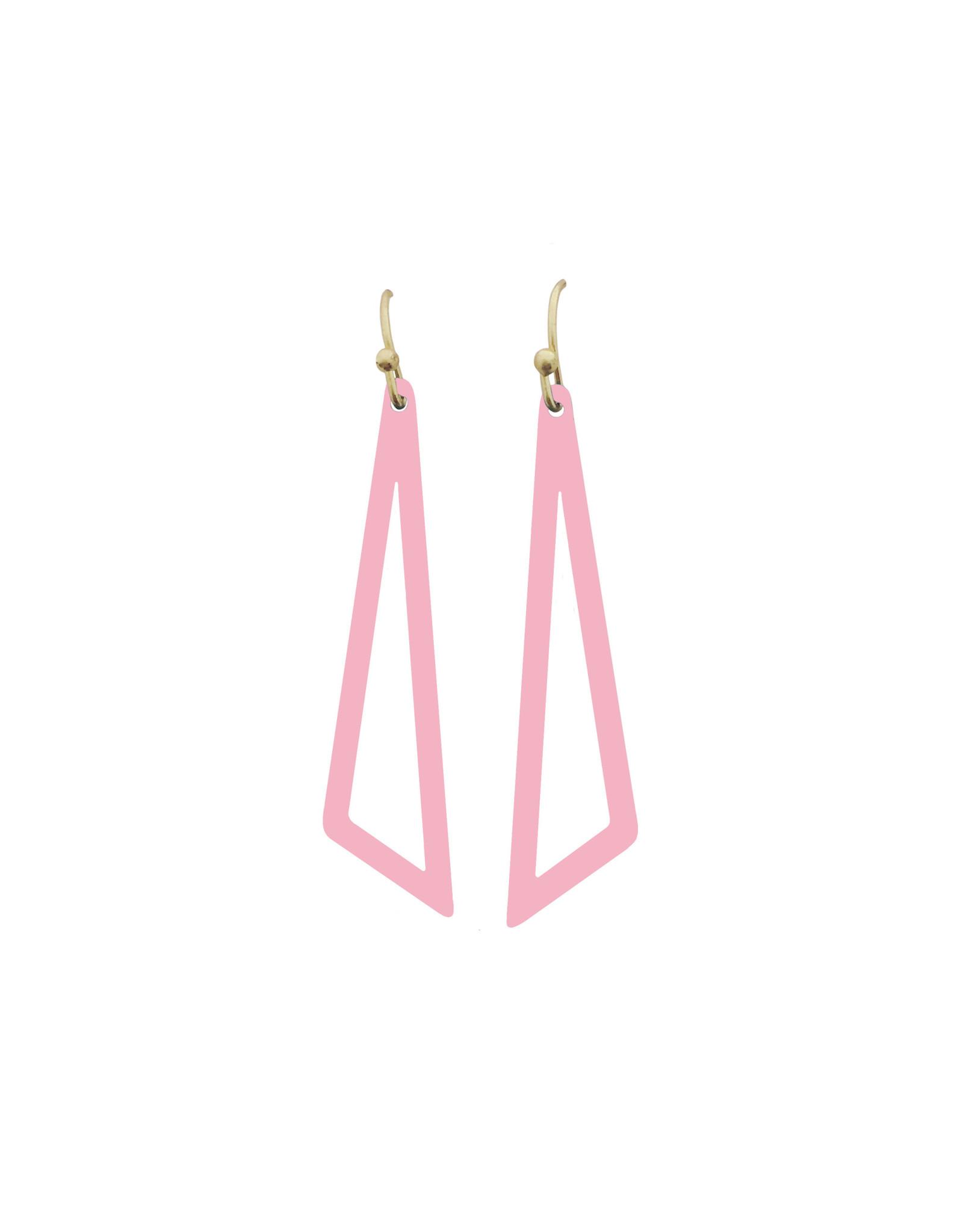 Mix&match driehoek roze