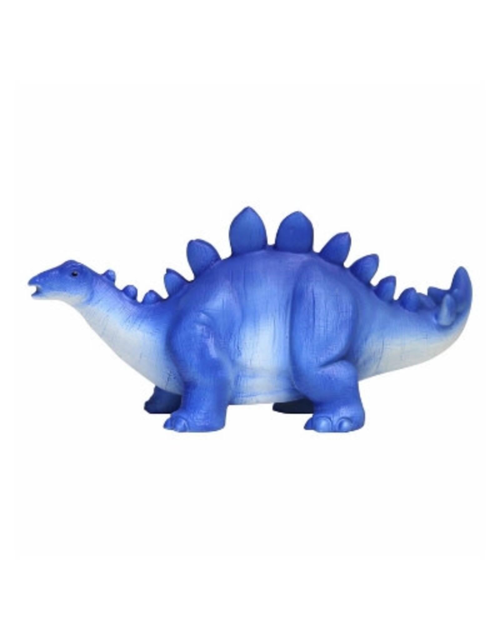 Lampje dino donkerblauw stegosaurus