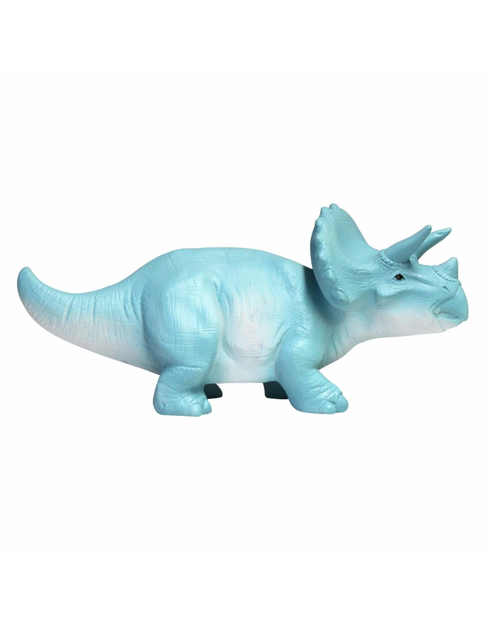 Lampje dino turquoise triceratops