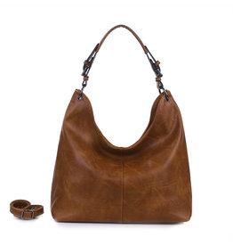 Handtas baggy XL bruin