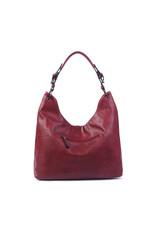 Handtas baggy XL bordeaux
