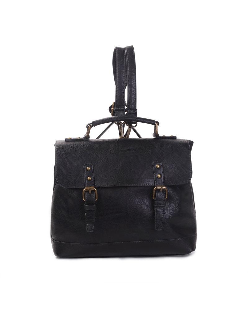 Handtas/rugzak zwart