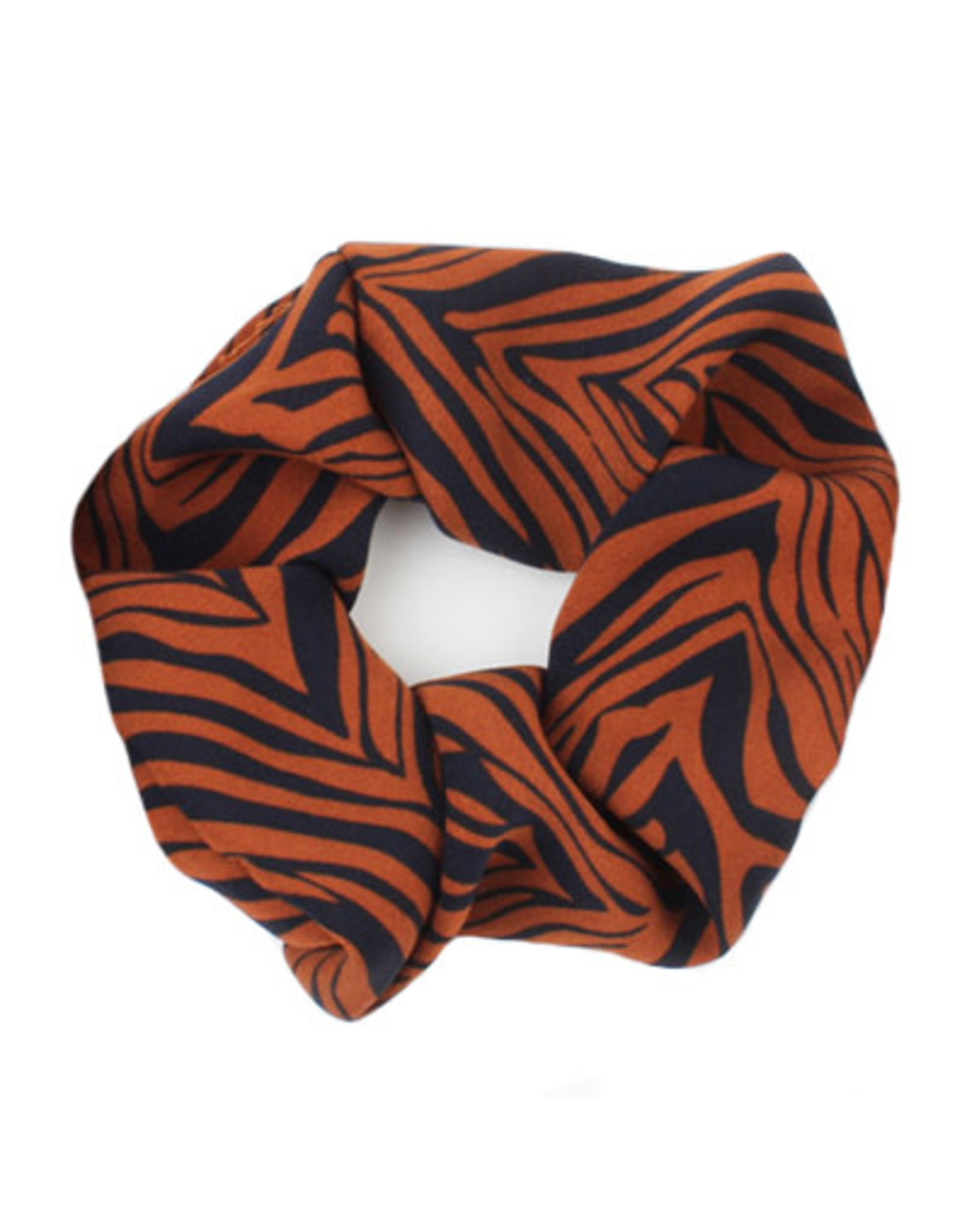 Scrunchie zebra roest