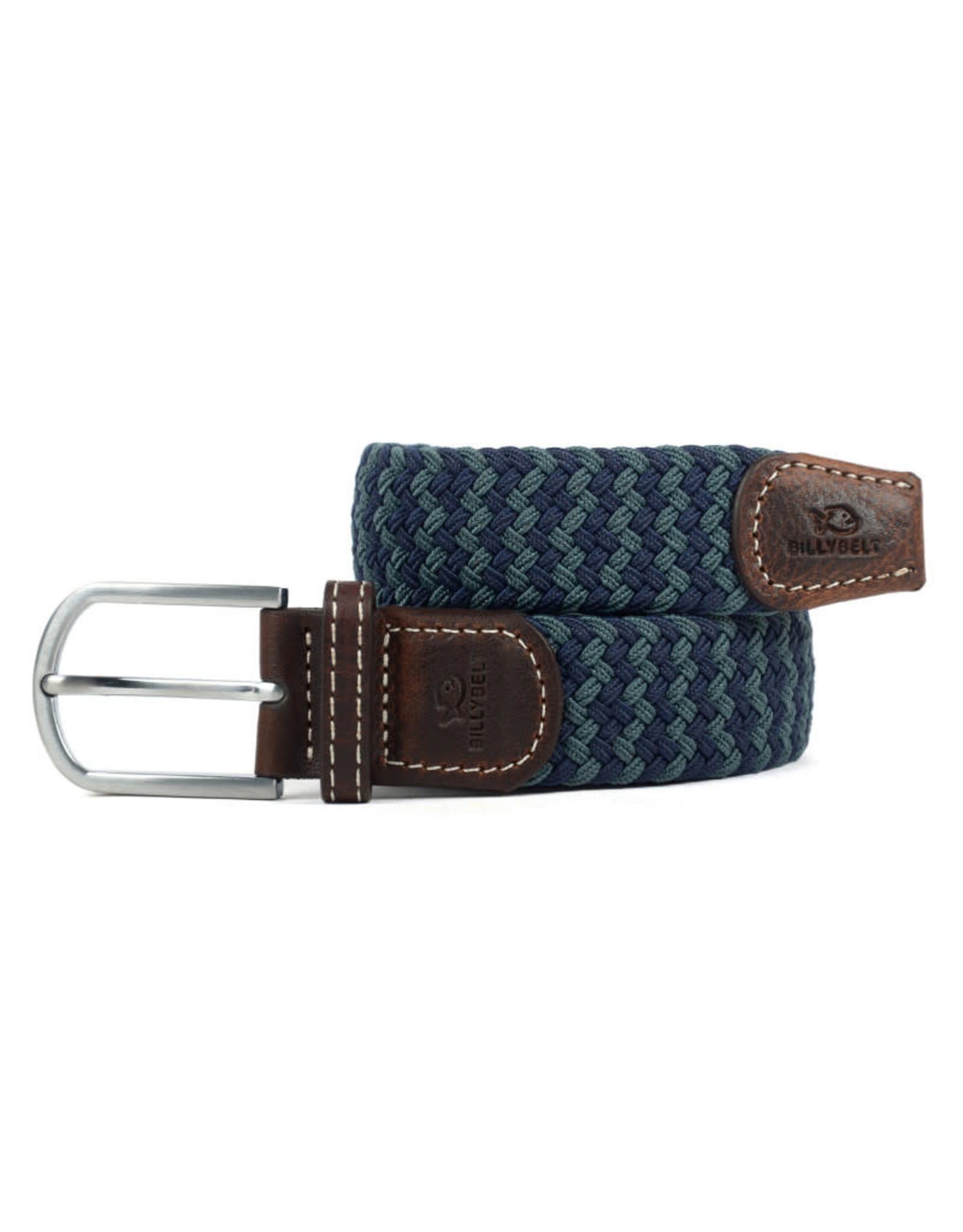 Riem zigzag donkerblauw/groen T1