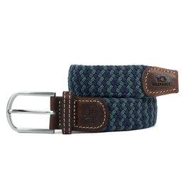 BB: Riem zigzag donkerblauw/groen T1
