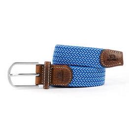 BB: Riem visgraat blauw/ecru T1