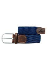 Riem visgraat donkerblauw/blauw T2