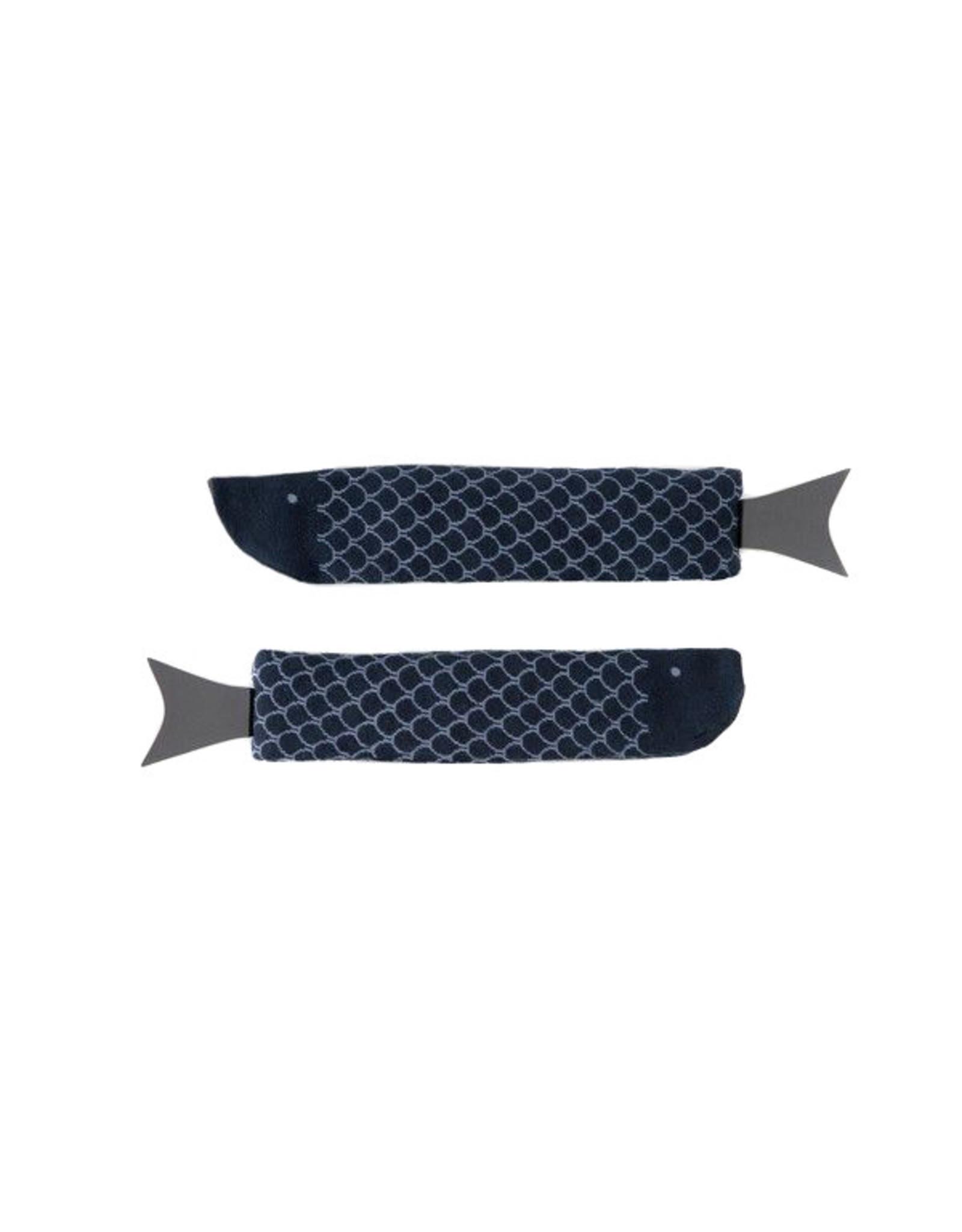 Sokken vis blauw