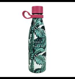 Dubbelwandige RVS fles tropical