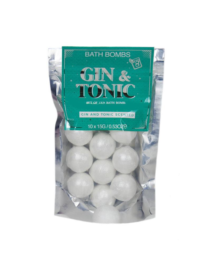 Bruisballen gin-tonic