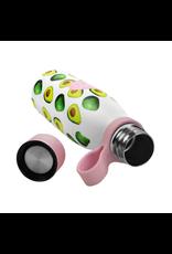 Dubbelwandige RVS fles avocado