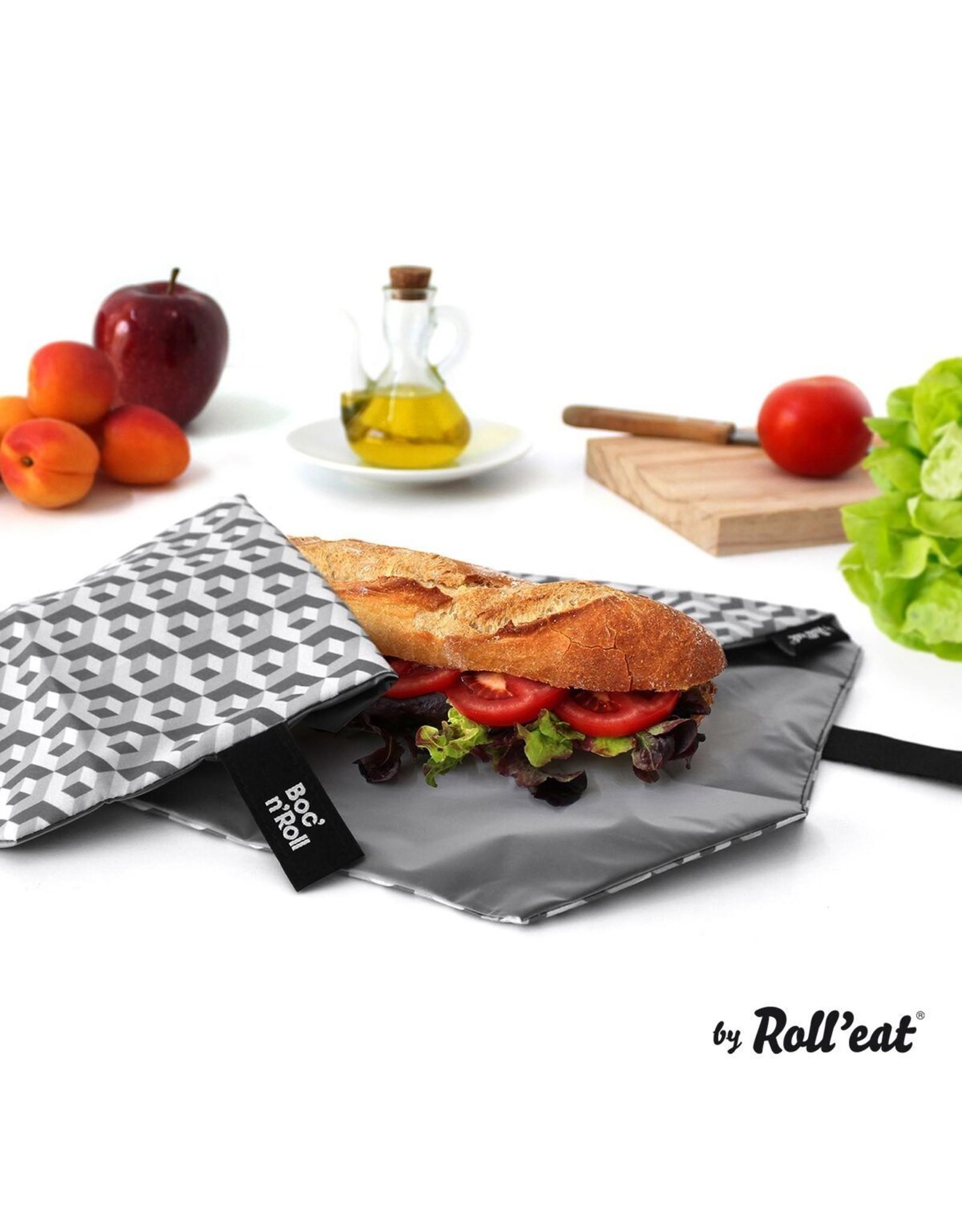 Roll'eat: Boc'n'Roll grafisch grijs