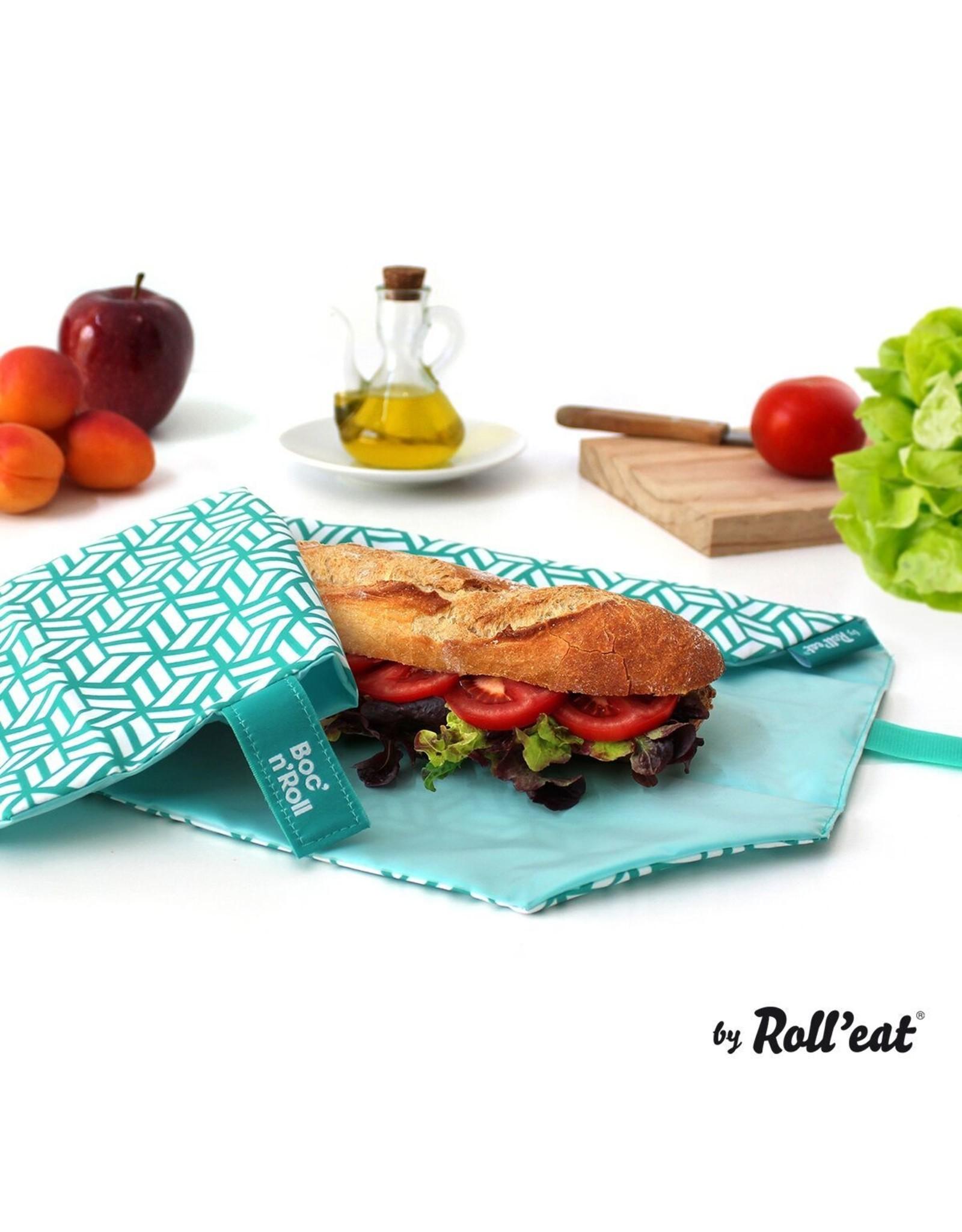 Roll'eat: Boc'n'Roll grafisch groen