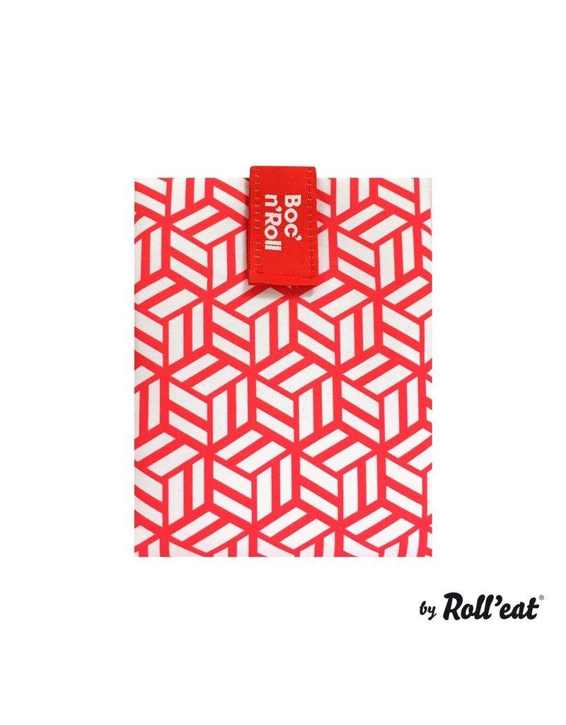 Roll'eat: Boc'n'Roll grafisch rood