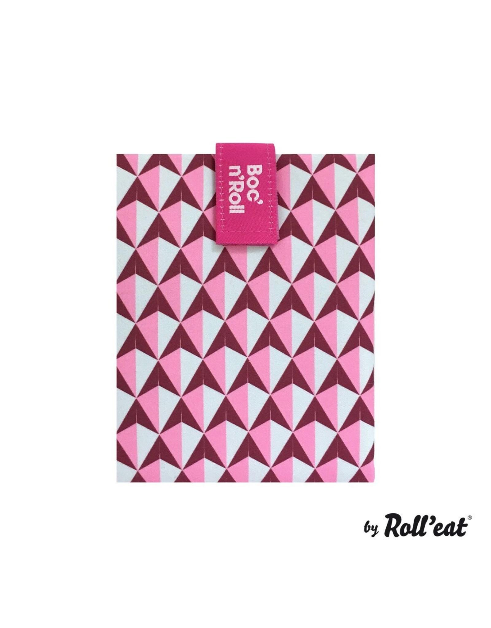 Roll'eat: Boc'n'Roll grafisch roze