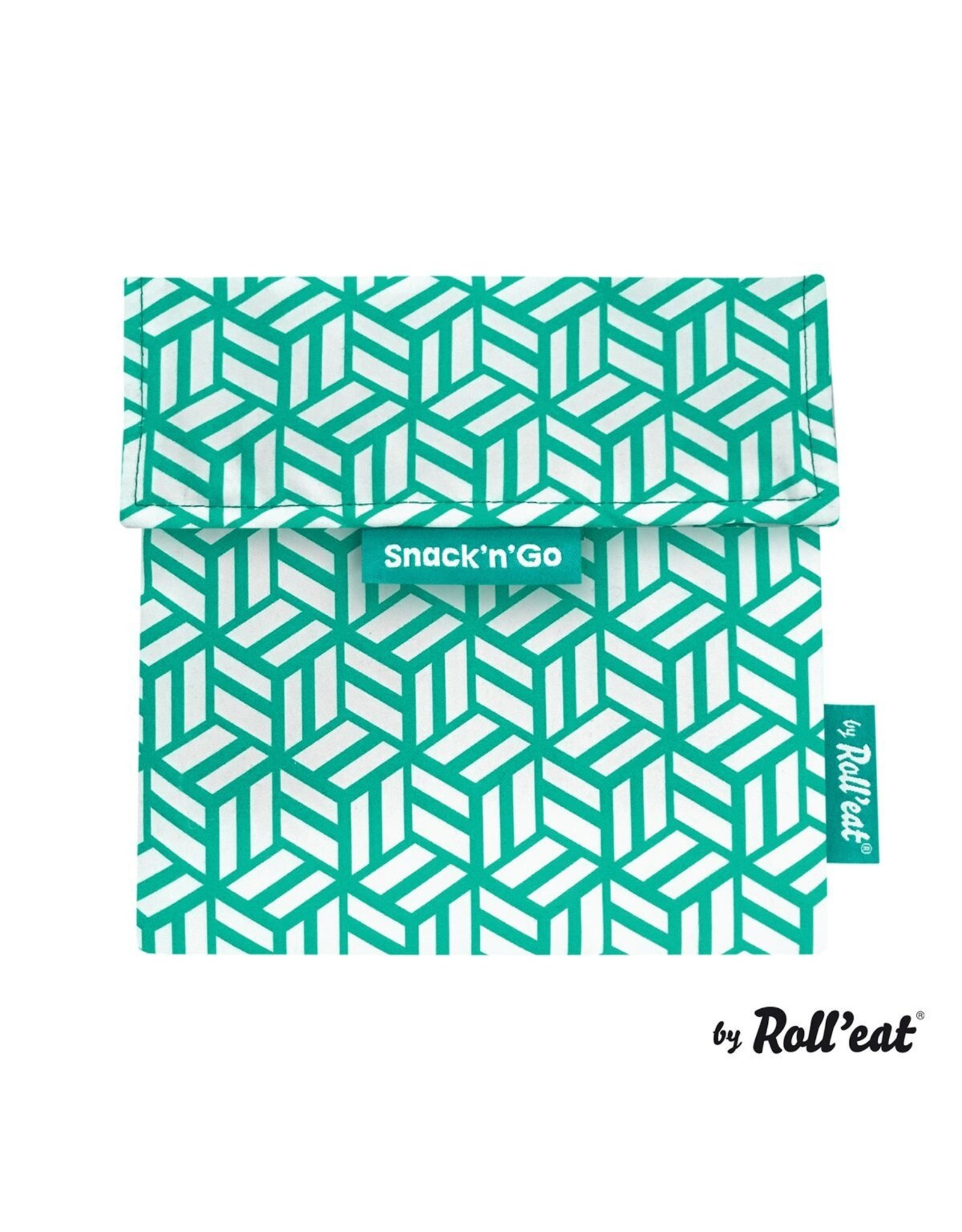 Roll'eat: Snack'n'Go grafisch groen