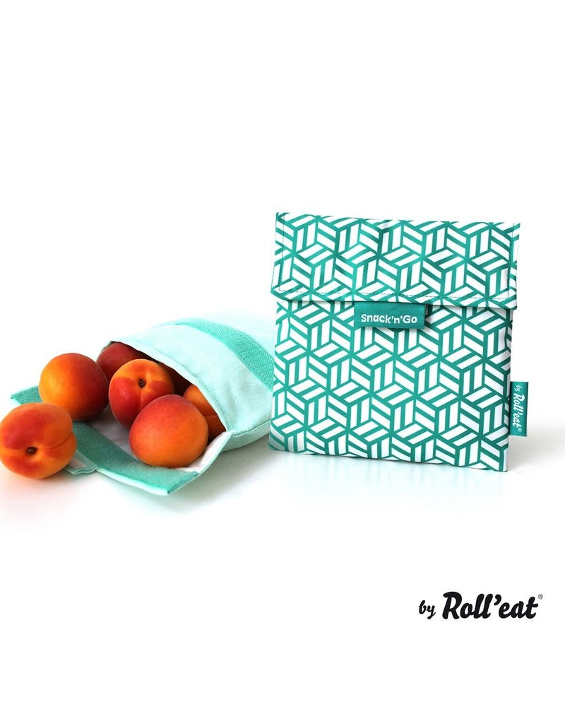 Roll'eat: Snack'n'Go grafisch groen