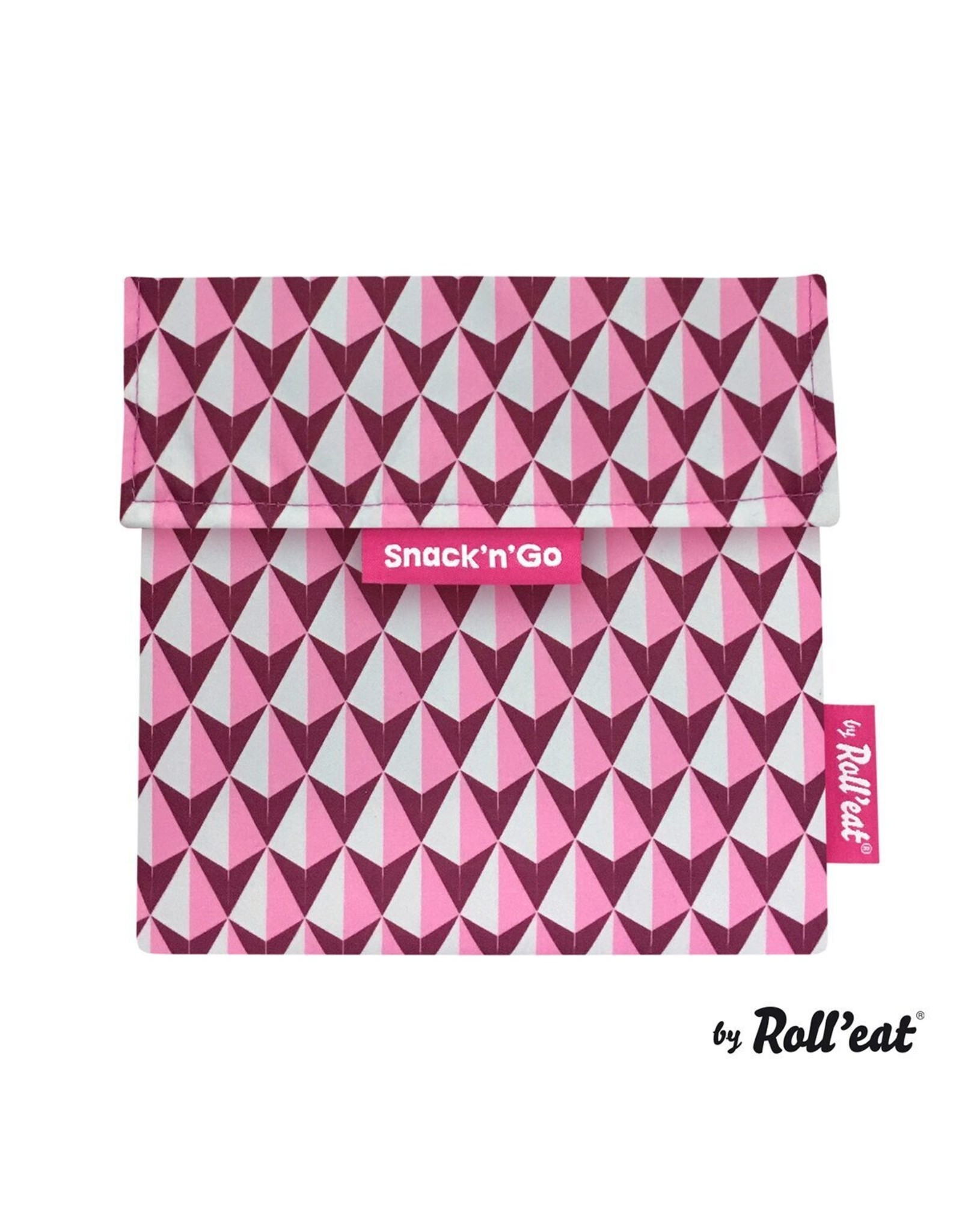 Roll'eat: Snack'n'Go grafisch roze