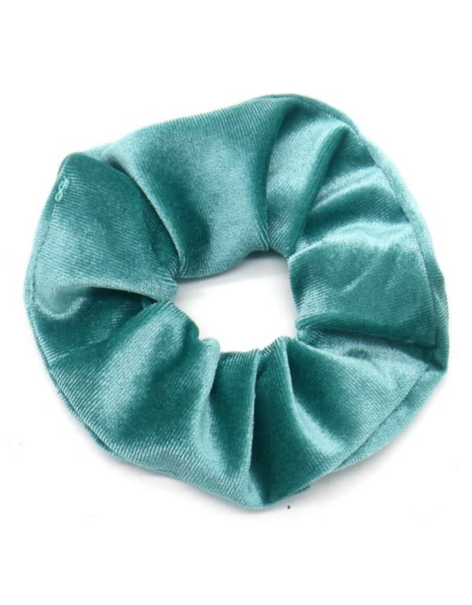 Scrunchie velvet turquoise