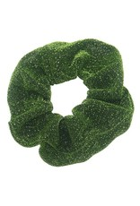 Scrunchie glitter groen