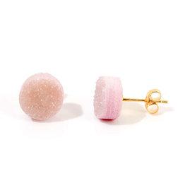 Stekers natuursteen roze