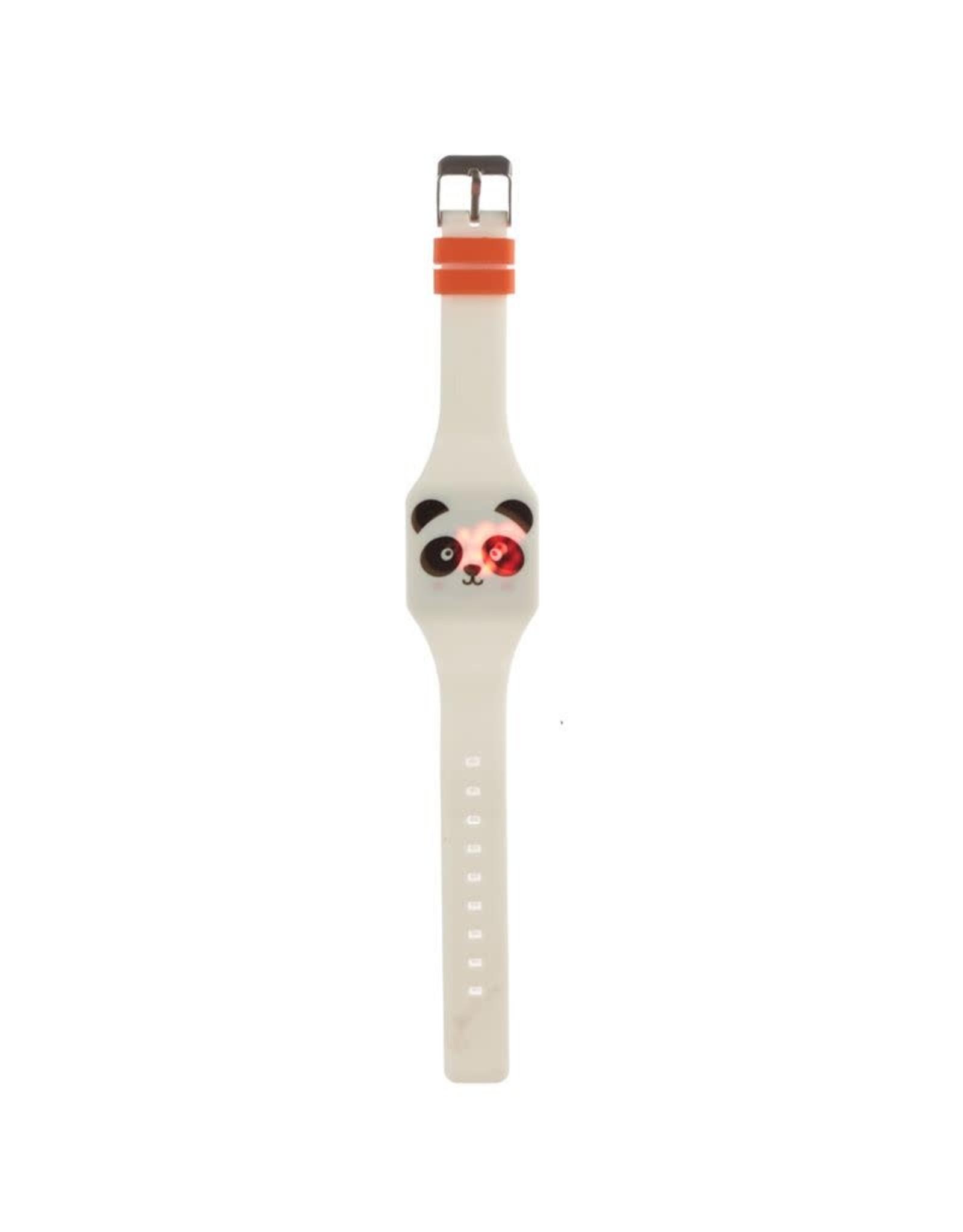 Horloge LED panda