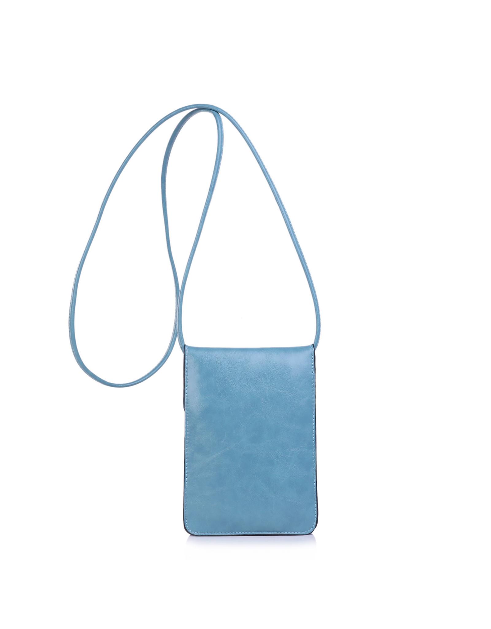 Handtas mini lichtblauw