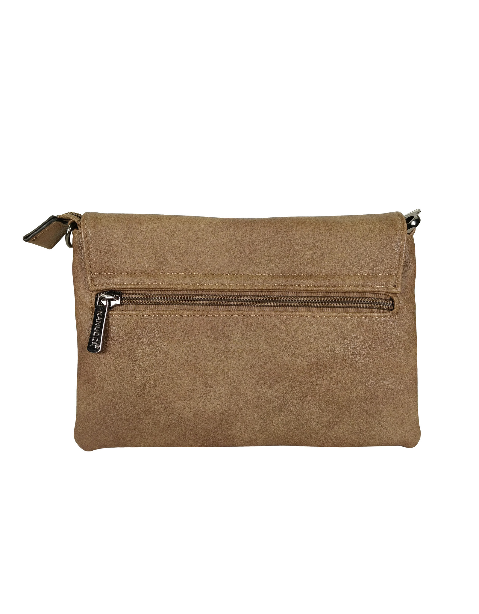Handtasje/clutch taupe