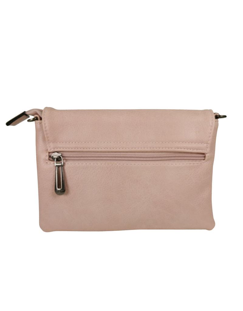 Handtasje/clutch lichtroze