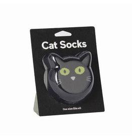 Sokken kat zwart