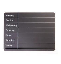 Weekplanner krijt