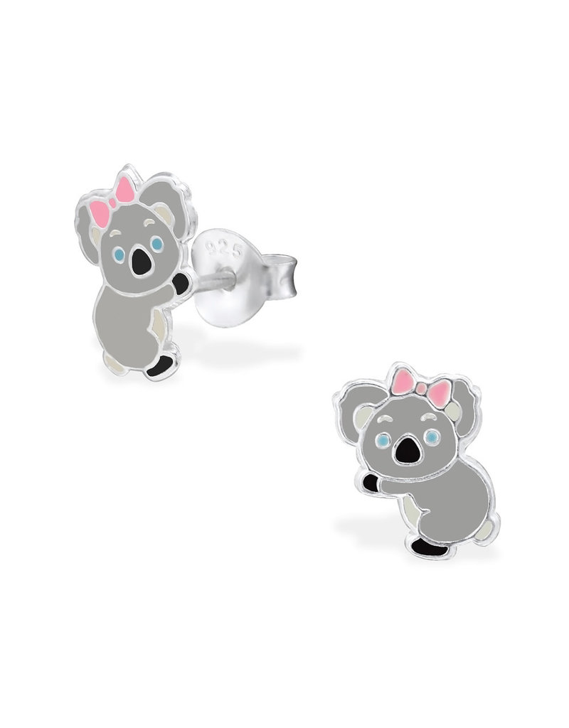 Stekertjes zilver koala