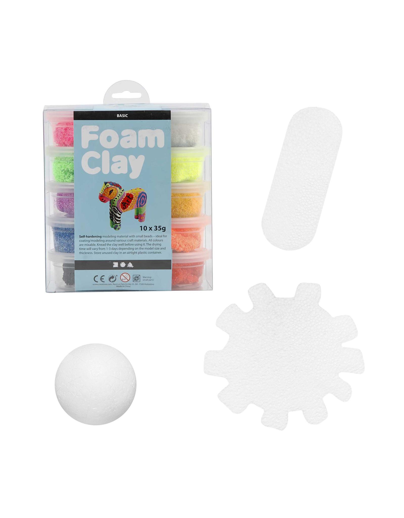 Foam Clay® set virus