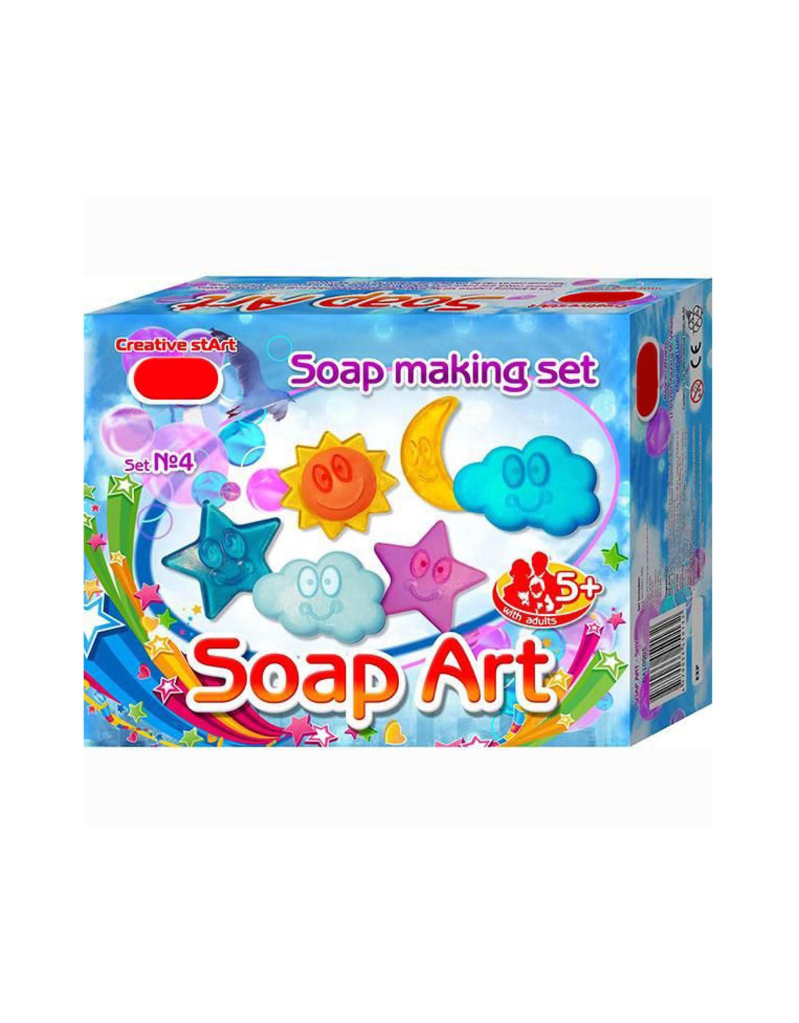 DIY zeep maken lucht