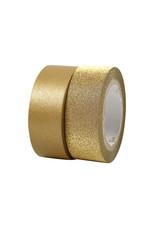Washi tape set goud