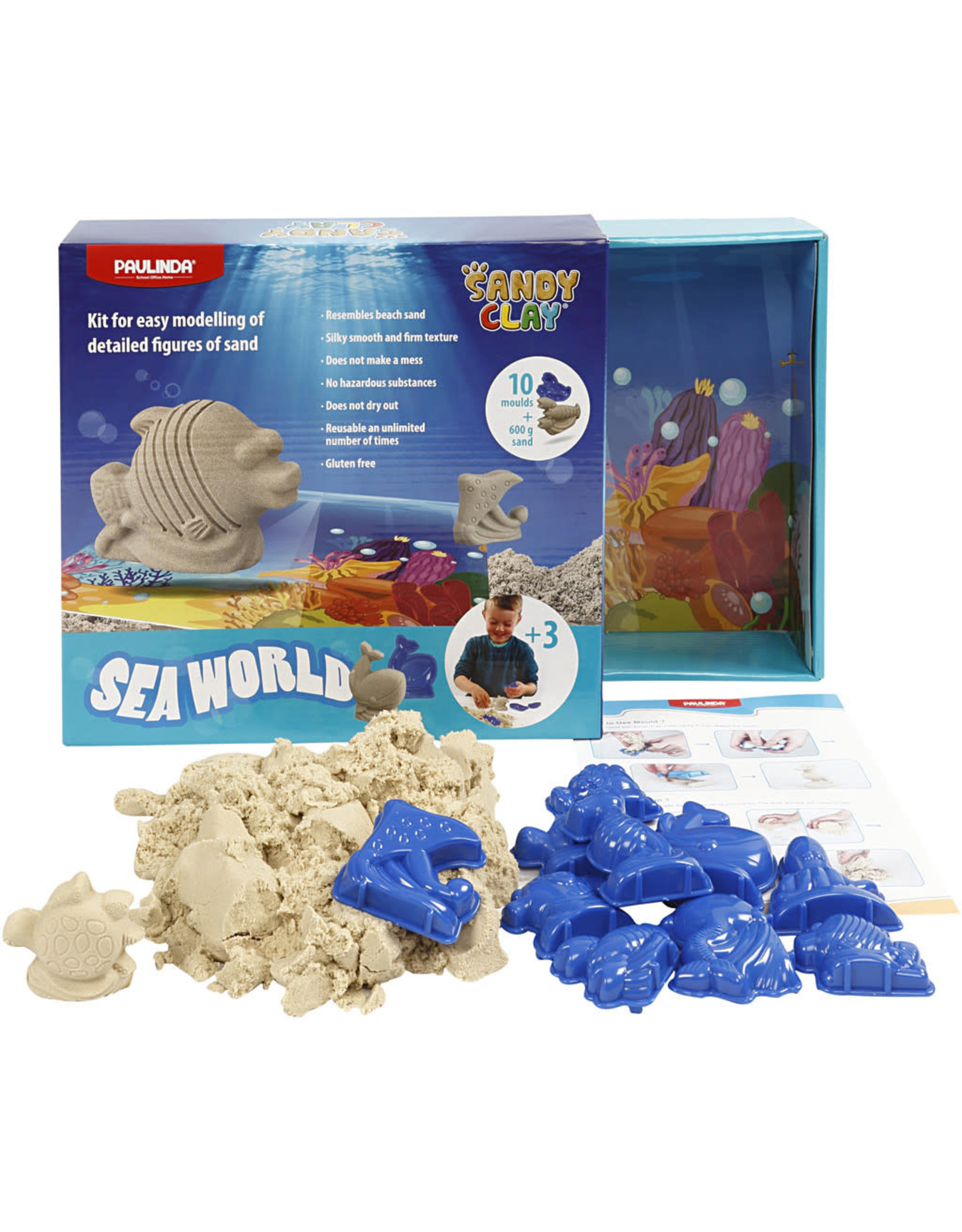 Speelzand set oceaan