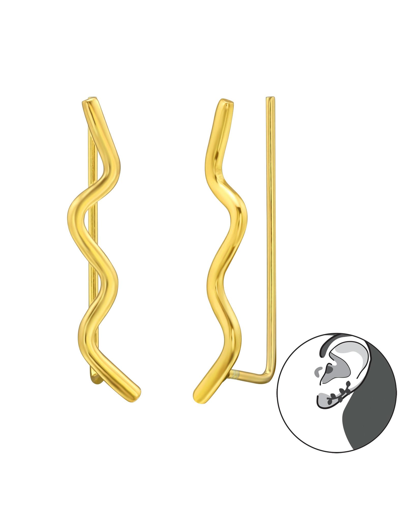 Stekers verguld lang slang