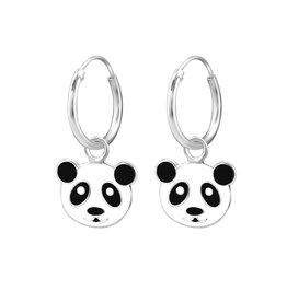 Ringetjes zilver panda