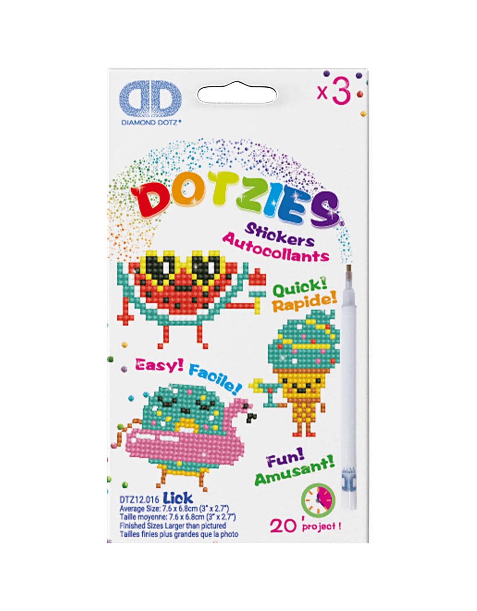 Diamond Dotz stickers KAWAII