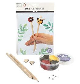 DIY mini potloodtoppers