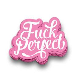 Sticker vinyl Fuck Perfect
