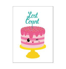 Postkaart Lost count
